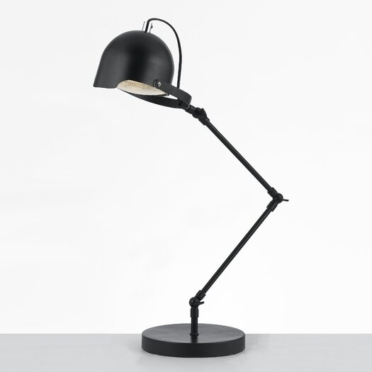 "AF Lighting Angelo:Home Cooper Desk 22.5"" H Lamp with Bowl Shade"
