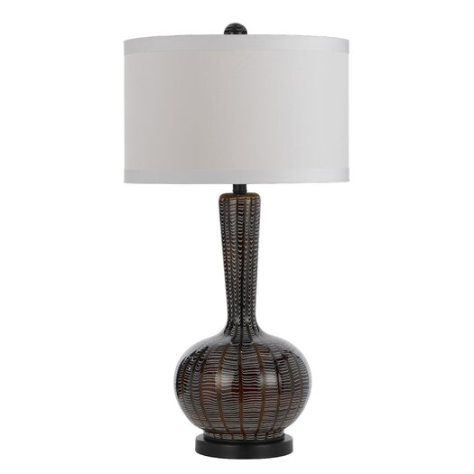 """AF Lighting Candice Olson Odyssey 31.5"""" H Table Lamp with Drum Shade"""