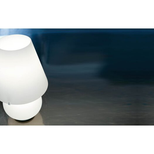 """Murano Luce Candy 13.78"""" H Table Lamp with Empire Shade"""