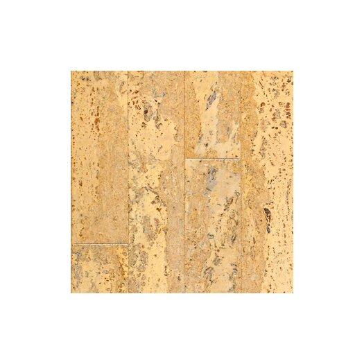 "US Floors Almada Nevoa 4-1/8"" Engineered Locking Cork Flooring in Natural"