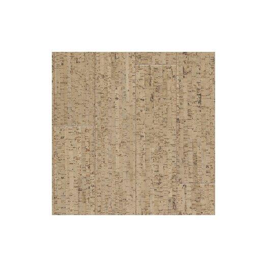 "US Floors Almada 4-1/8"" Engineered Cork Flooring in Marcas Areia"