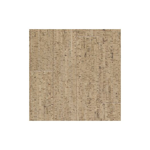 "US Floors Almada 4-1/8"" Engineered Cork Flooring in Marcas Areia"