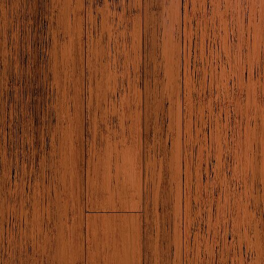 """US Floors Natural Bamboo Expressions 5.44"""" Solid Bamboo Flooring in Antique Spice"""