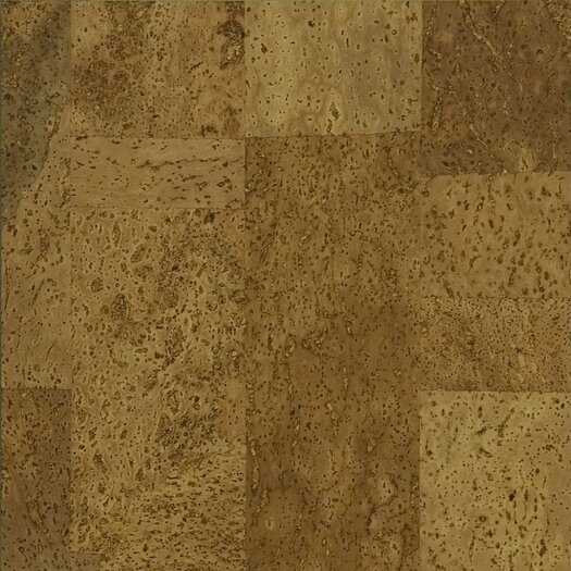 "US Floors EcoCork 11-5/8"" Engineered Cork Flooring in Pedras"