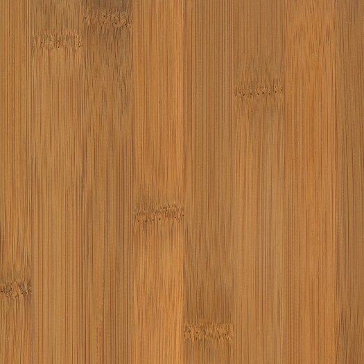 "US Floors Glueless Locking Bamboo 5-1/4"" Engineered Bamboo Flooring in Horizontal Spice"
