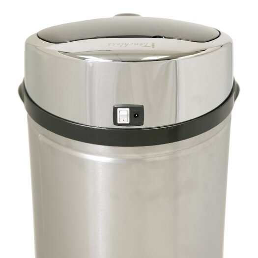 iTouchless 8-Gal. Automatic Touchless Trash Can