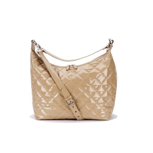 JP Lizzy Patent Hobo Diaper Bag