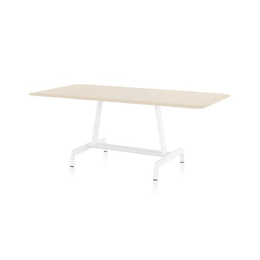 Herman Miller ® AGL Table with Formcoat Top