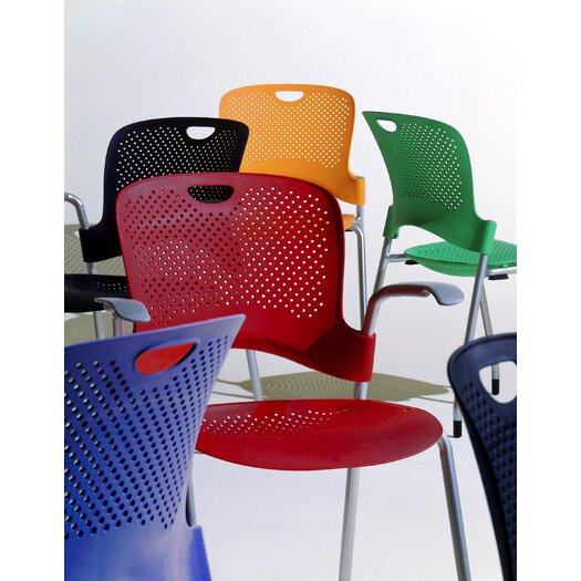 Herman Miller ® Caper Stacking Chair With Arms