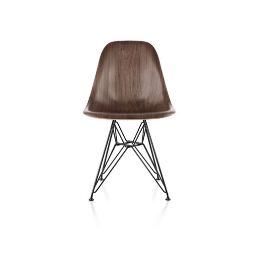 Herman Miller ® Eames® Molded Wood Side Chair With Wire Base