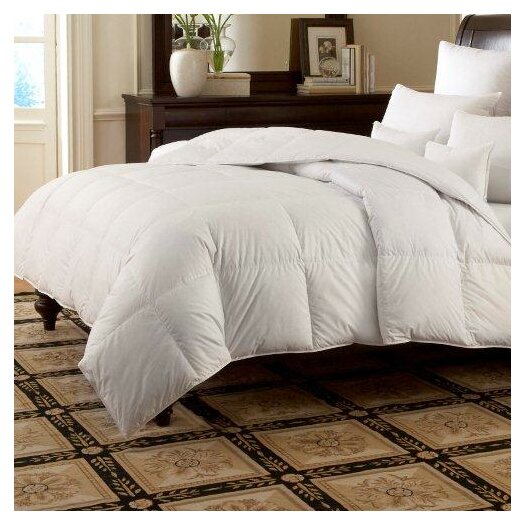 Downright LOGANA Batiste Medium 800 White Goose Down Pillow