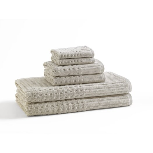 Kassatex Fine Linens Spa 6 Piece Towel Set