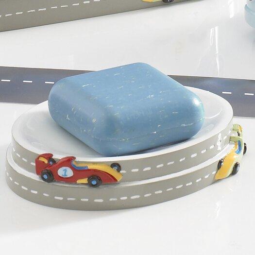 Kassatex Fine Linens Bambini Race Track Soap Dish