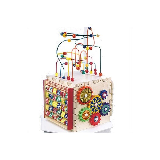 Anatex Deluxe Mini Play Cube Activity Toy