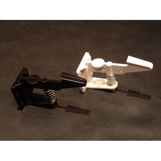 Cardinal Gates Safety Drawer and Cabinet Latch in Black (50 pieces)