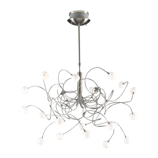 PLC Lighting Fusion 20 Light Pendant