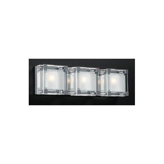 PLC Lighting Corteo 3 Light Vanity Light