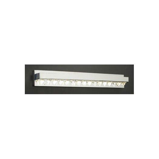 PLC Lighting Crysto 8 Light Vanity Light