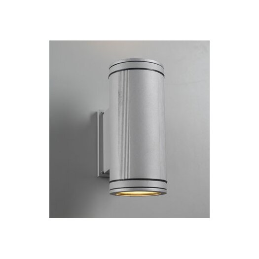 PLC Lighting Meridian 2 Light Outdoor Wall Sconce