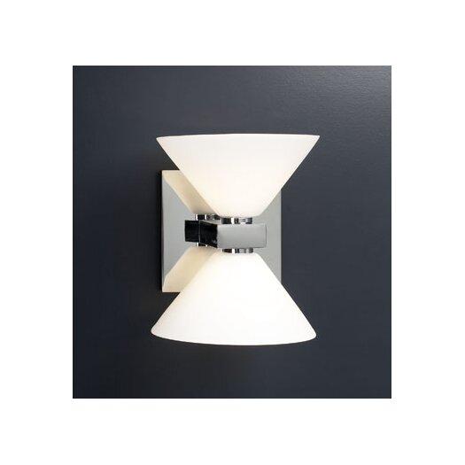 PLC Lighting Matrix  2 Light Wall Sconce