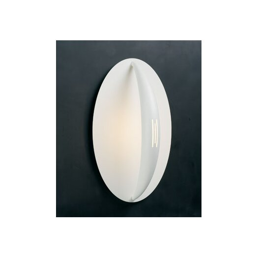 PLC Lighting Moon  1 Light Wall Sconce