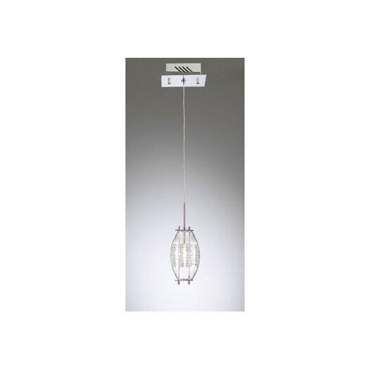 PLC Lighting Wrap 1 Light Mini Pendant