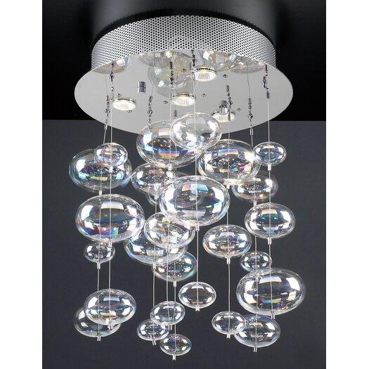 PLC Lighting Bubbles 4 Light Pendant