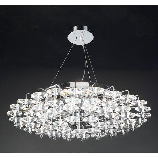PLC Lighting Diamente 18 Light Pendant