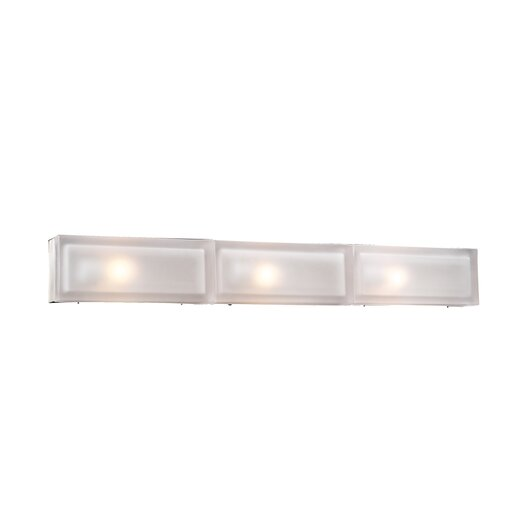 PLC Lighting Praha 3 Light Bath Vanity Light