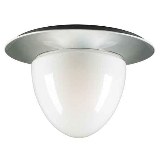 PLC Lighting Milo 3 Light Flush Mount