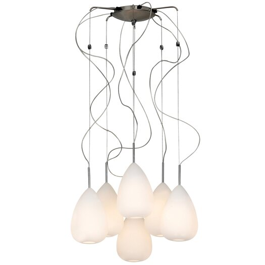 PLC Lighting Mabel 6 Light Chandelier