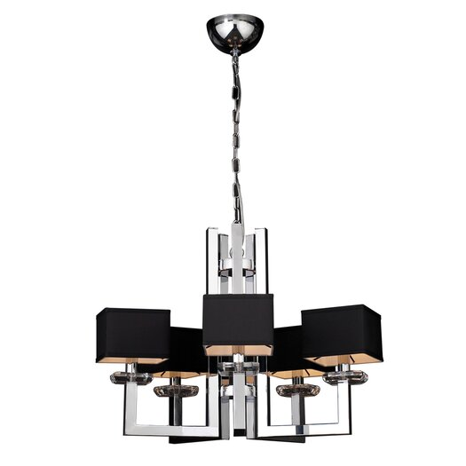 PLC Lighting Icon 5 Light Chandelier
