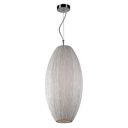PLC Lighting Melrose 1 Light Pendant