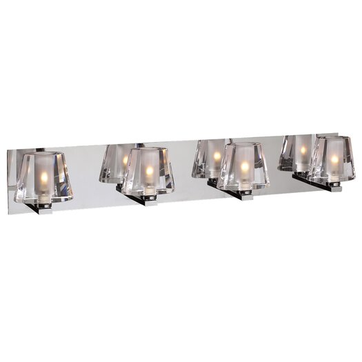 PLC Lighting Cheope 4 Light Vanity Light