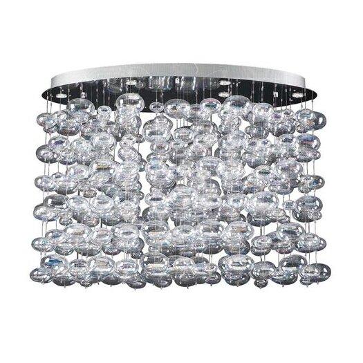 PLC Lighting Bubbles 15 Light Pendant