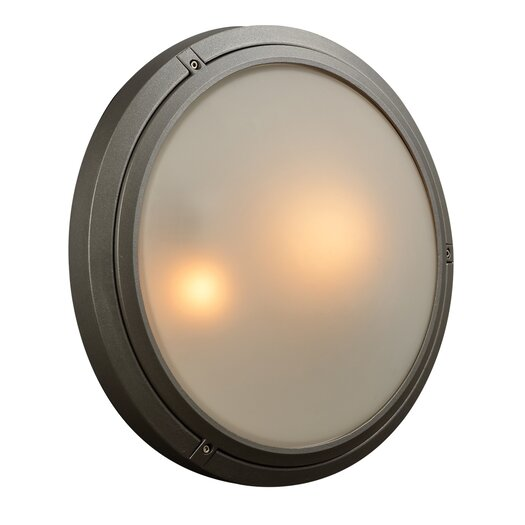 PLC Lighting Ricci-II 2 Light Outdoor Wall Sconce