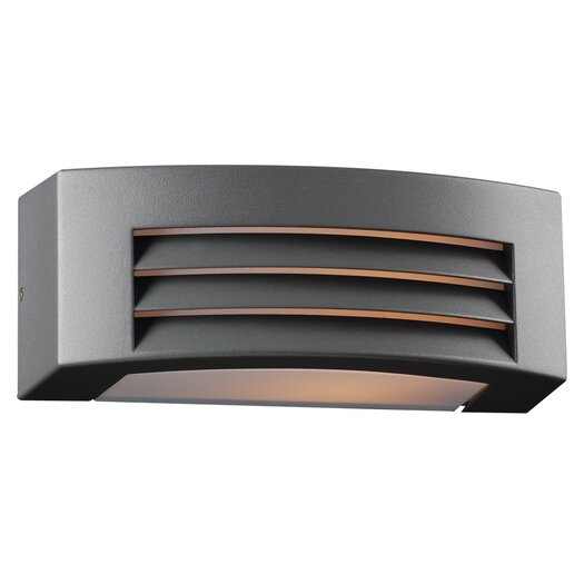 PLC Lighting Luciano 1 Light Outdoor Wall Sconce