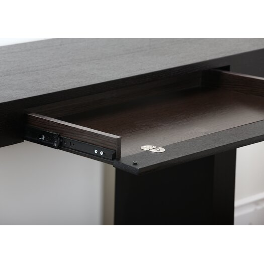 Abbyson Living Monroe Computer Desk with Keyboard Tray