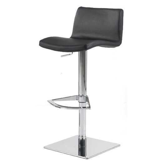 Bellini Modern Living Pluto Adjustable Height Swivel Bar Stool