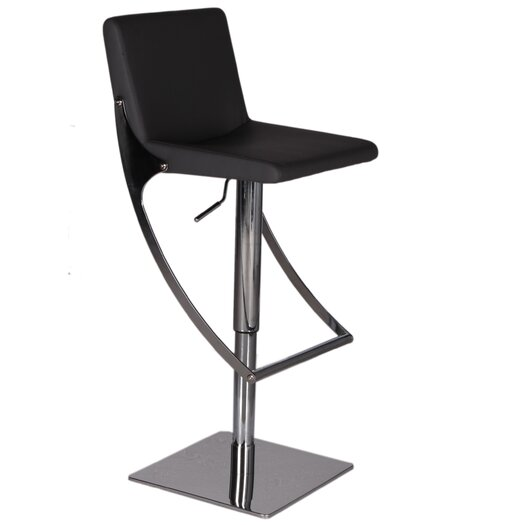 Bellini Modern Living Sonic Adjustable Height Bar Stool