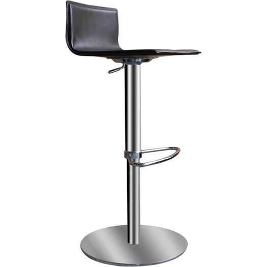 Bellini Modern Living Paula Adjustable Height Swivel Bar Stool