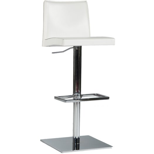 Bellini Modern Living Rio Adjustable Height Swivel Bar Stool