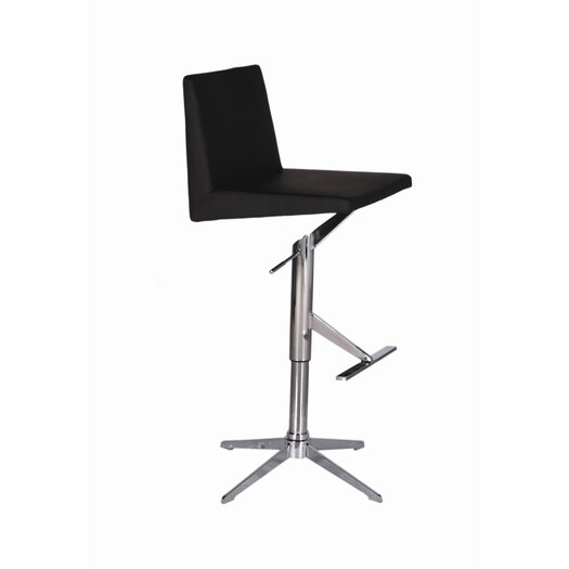 Bellini Modern Living Ethan Adjustable Height Swivel Bar Stool