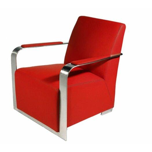 Bellini Modern Living Ariana Leather Arm Chair