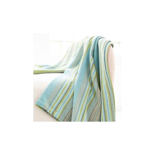 Dash and Albert Rugs Aquinnah Woven Cotton Throw