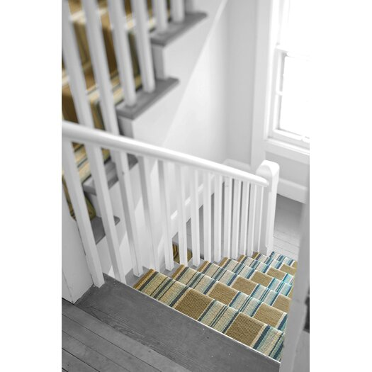 Dash and Albert Rugs Woven Heron Stripe Area Rug