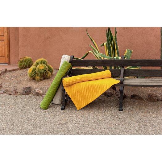 Dash and Albert Rugs Indoor/Outdoor Sprout Rope Green Outdoor Area Rug