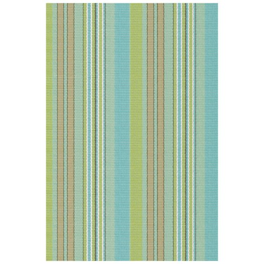 Dash and Albert Rugs Woven Aquinnah Green Area Rug