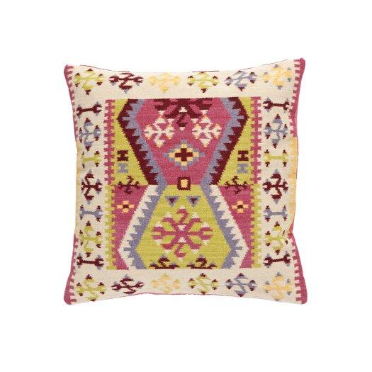 Dash and Albert Rugs Bohemian Wool Pillow