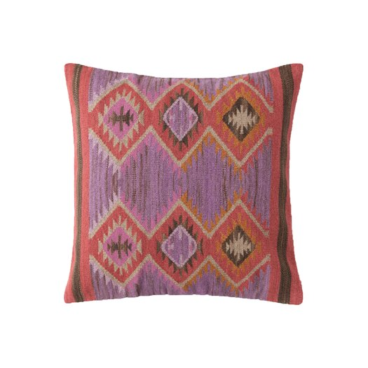 Dash and Albert Rugs Rhapsody Wool Pillow